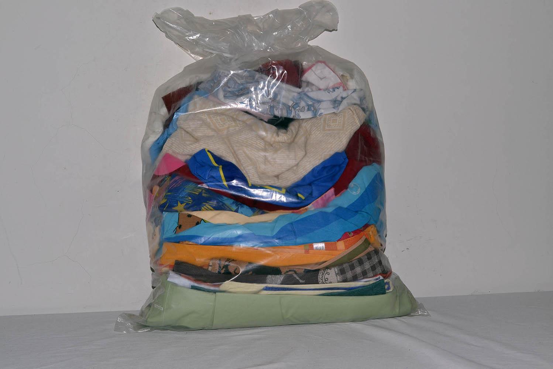 BYT0300 Смесь бытового текстиля; код мешка 12171431