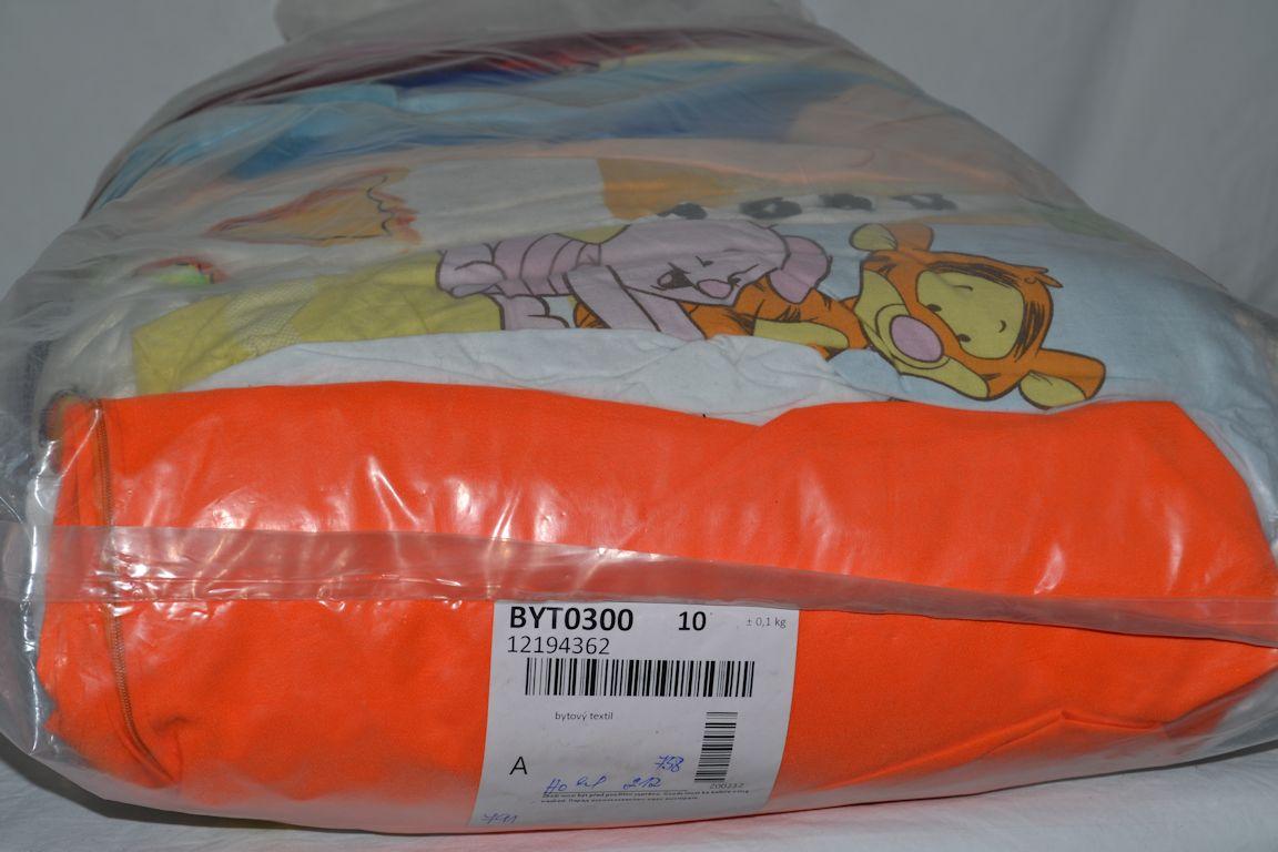 BYT0300 Смесь бытового текстиля; код мешка 12194362