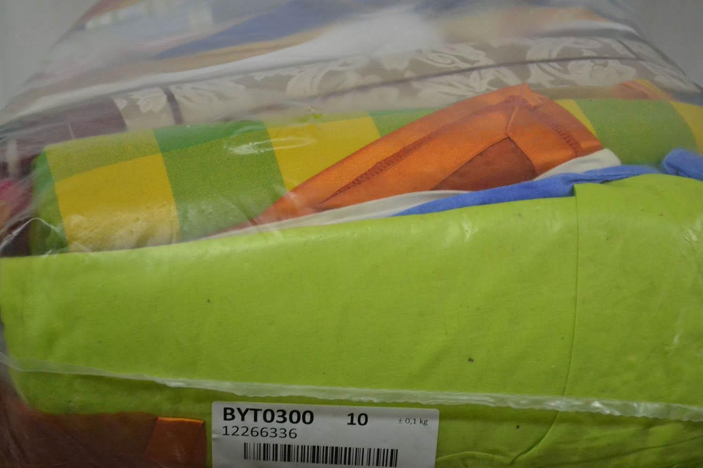 BYT0300 Смесь бытового текстиля; код мешка 12266336