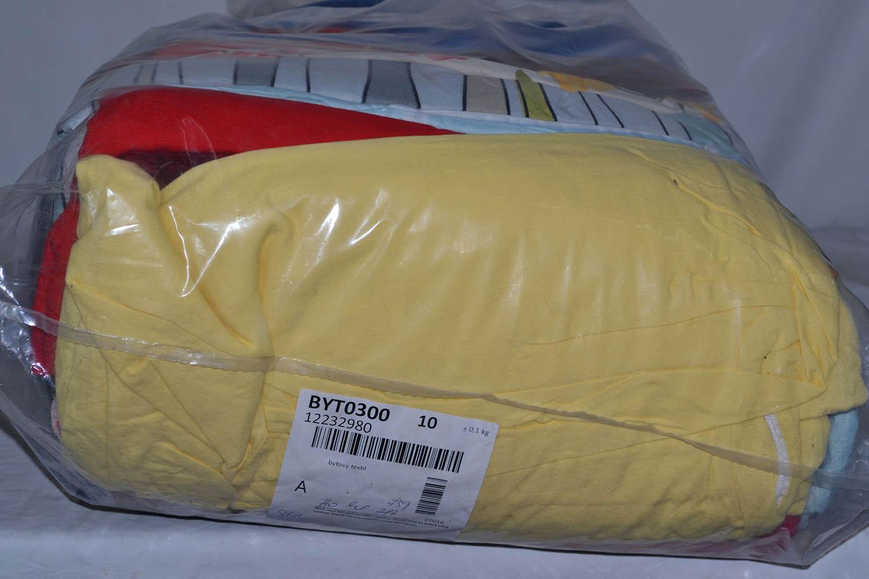 BYT0300 Смесь бытового текстиля; код мешка 12232980