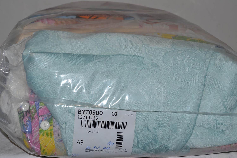 BYT0900 Смесь бытового текстиля; код мешка 12214215