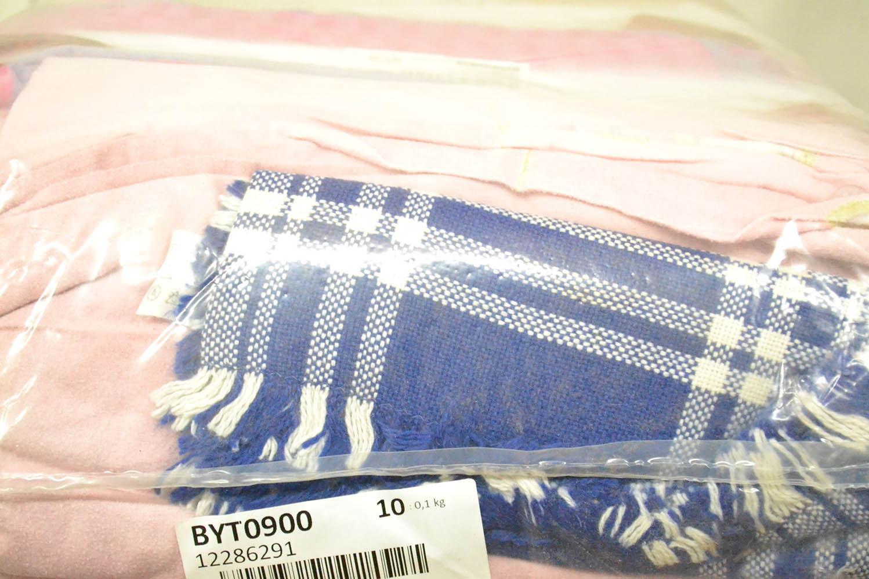 BYT0900 Смесь бытового текстиля; код мешка 12286291
