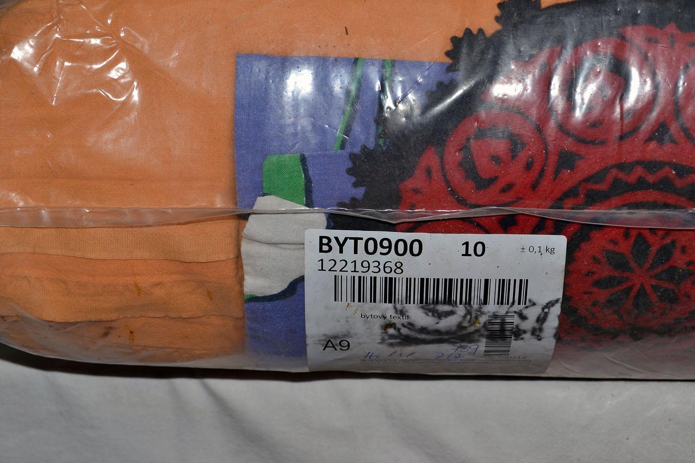 BYT0900 Смесь бытового текстиля; код мешка 12219368