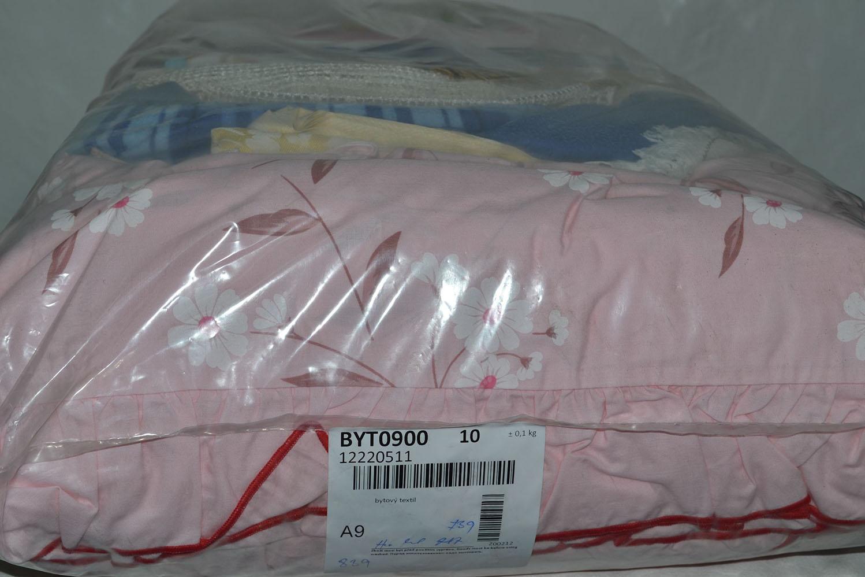 BYT0900 Смесь бытового текстиля; код мешка 12220511
