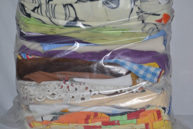 BYT0900 Смесь бытового текстиля; код мешка 12257357