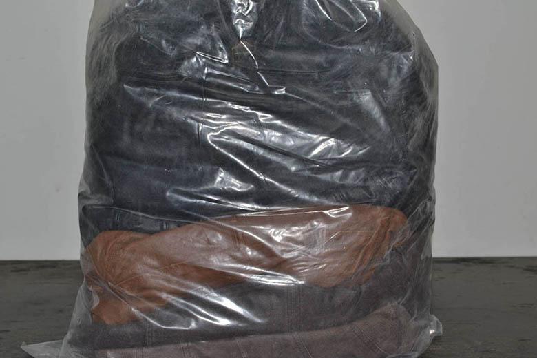 KOZ0300 Кожаная одежда; код мешка 12050048