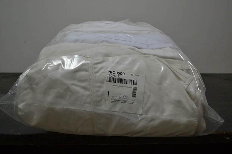 PRO0500 Рабочая одежда белая; код мешка 12076357