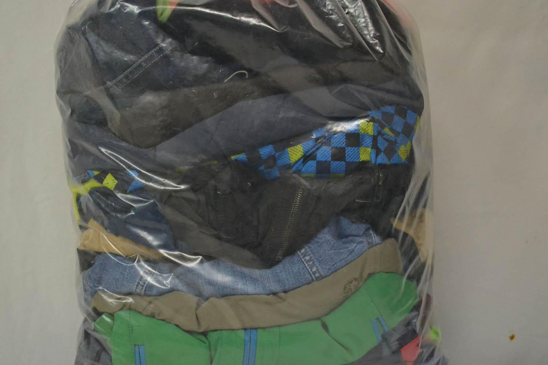 DEB03JR Детские куртки весенние; код мешка 12247176