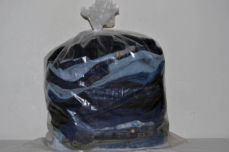 KAL03EL Женские эластичные джинсовые брюки; код мешка 12162988