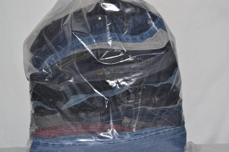 KAL03EL; Женские эластичные  джинсовые брюки: код мешка12053656