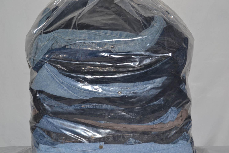 KAL03EL Женские эластичные джинсовые брюки; код мешка 12061035