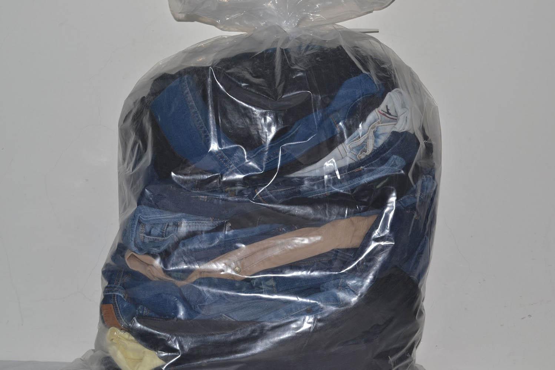 KAL03EL Женские эластичные джинсовые брюки; код мешка 12185328