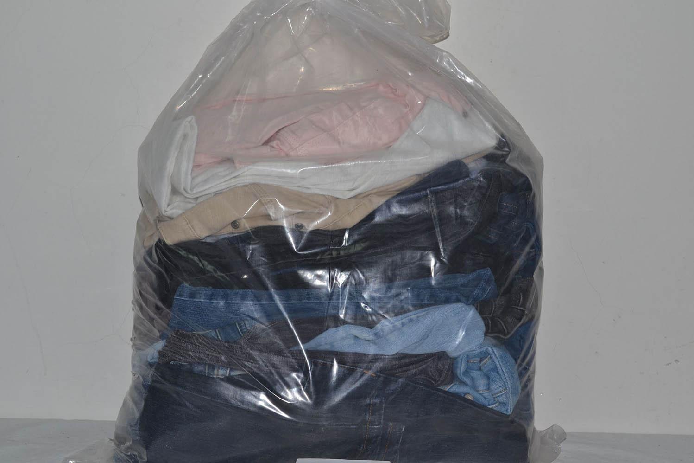 KAL03EL; Женские эластичные  джинсовые брюки: код мешка12185319