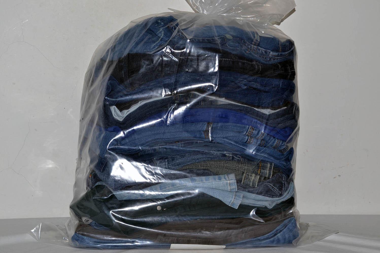 KAL03EL; Женские эластичные  джинсовые брюки: код мешка12052556
