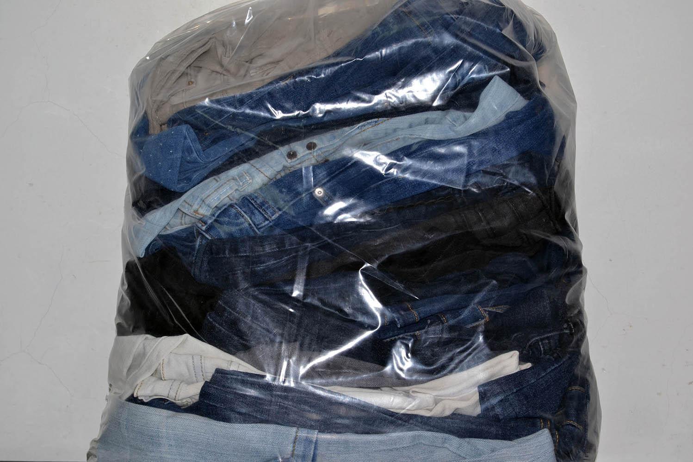 KAL03EL Женские эластичные джинсовые брюки; код мешка 12166840