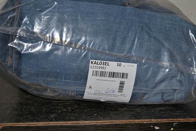KAL03EL Женские эластичные джинсовые брюки; код мешка 12154982