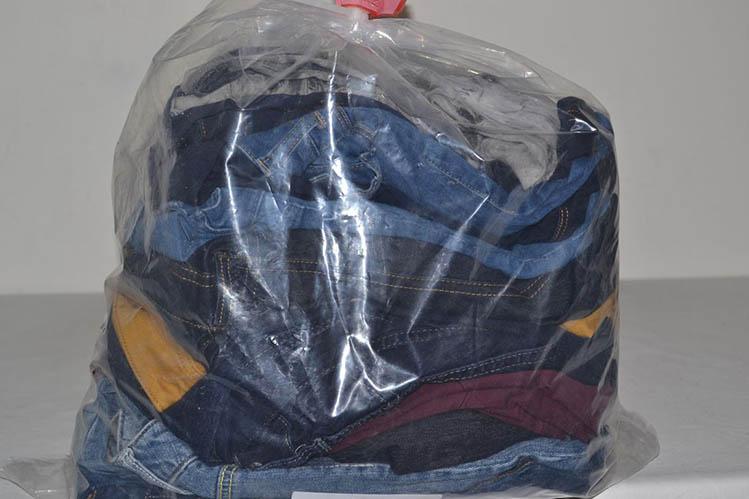 KAL35EL Женские эластичные джинсовые брюки; код мешка 12192345