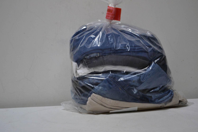 KAL35EL Женские эластичные джинсовые брюки; код мешка 12191680