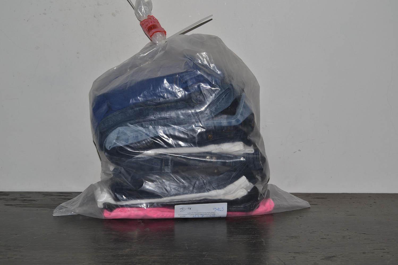 KAL35EL Женские эластичные джинсовые брюки; код мешка 12133519