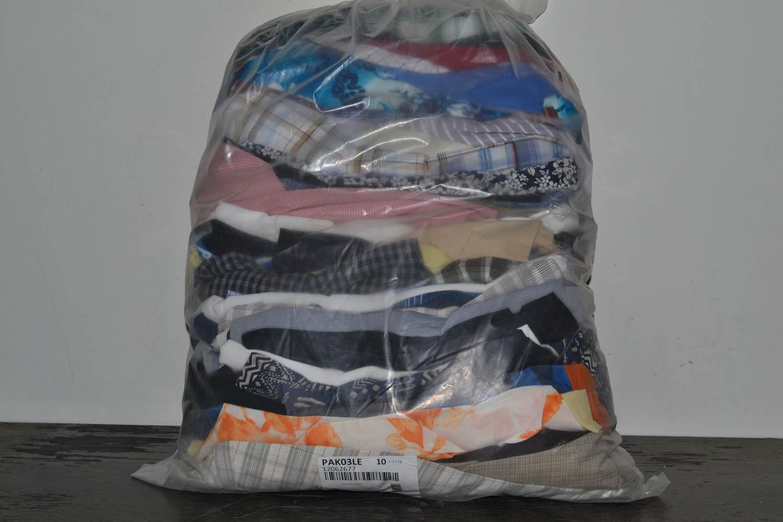PAK03LE Летние мужские рубашки; код мешка 12062677