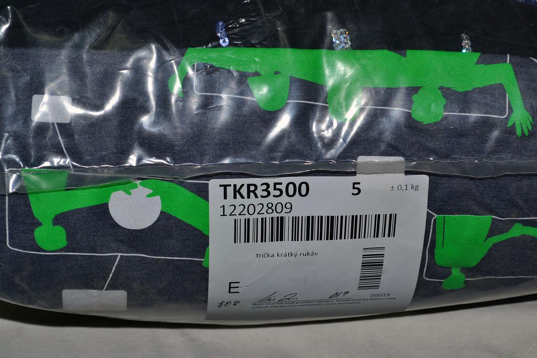 TKR3500 Майка с коротким рукавом; код мешка 12202809