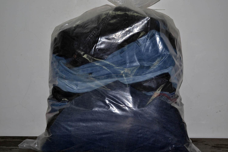 JKS03PA Джинсовые брюки мужские ; код мешка 12157310