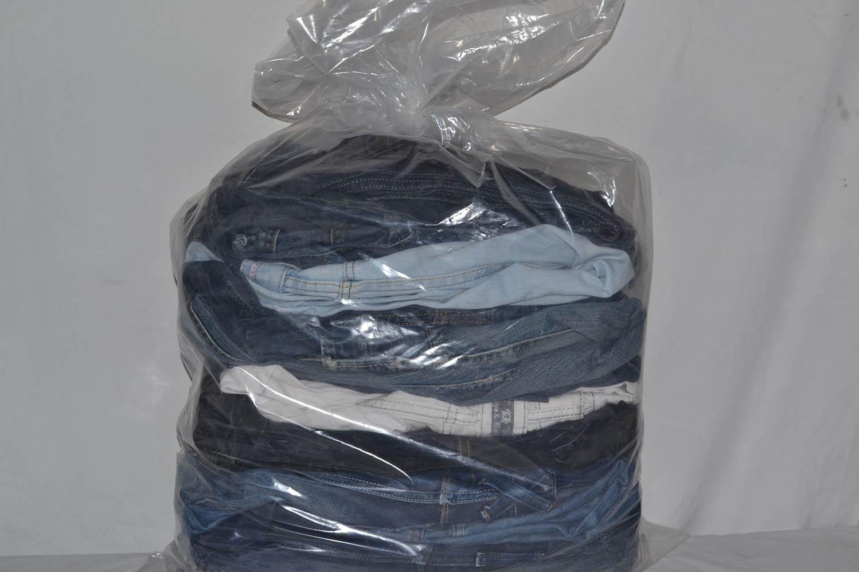 JKS03PA Джинсовые брюки мужские ; код мешка 12165638
