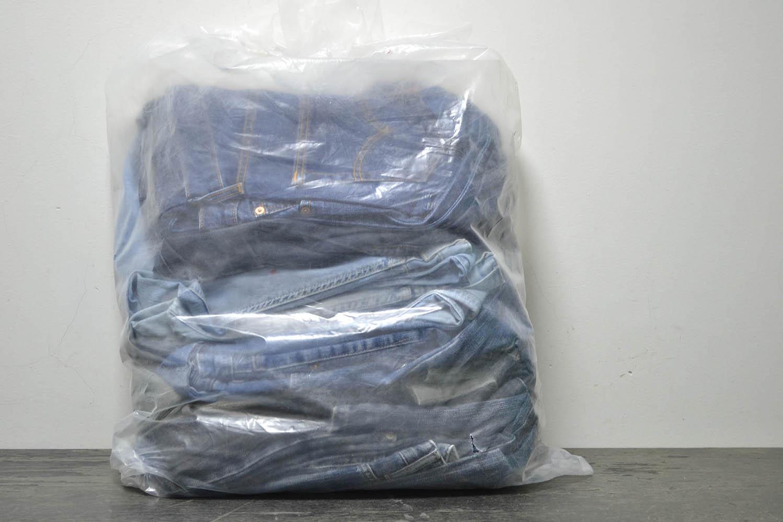 JKS03PA Джинсовые брюки мужские ; код мешка 12136621