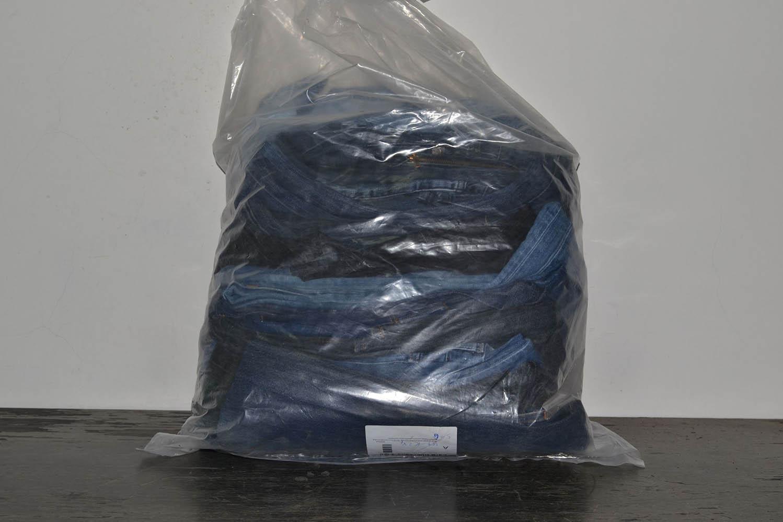 JKS03PA Джинсовые брюки мужские ; код мешка 12133586