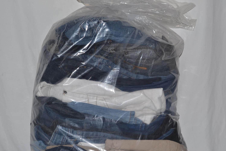 JKS03TE Джинсовые брюки до 38 р; код мешка 12198301