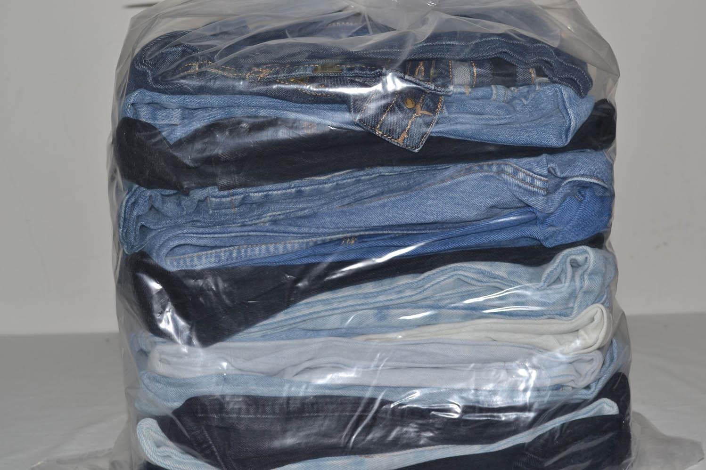 JKS03TE Джинсовые брюки 34-38 размер;  код мешка 12183734