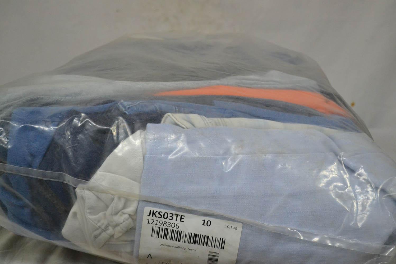 JKS03TE Джинсовые брюки до 38 р; код мешка 12198306