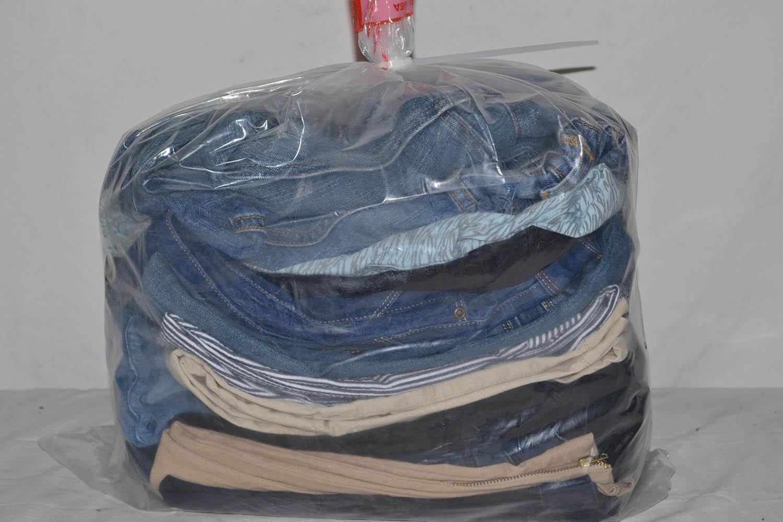 JKS35TE Джинсовые брюки до 38 р;код мешка 12203430