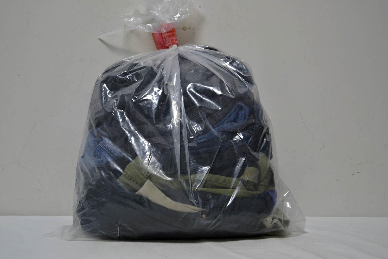 JKS35TE джинсовые брюки (36-38) р;код мешка 12203429