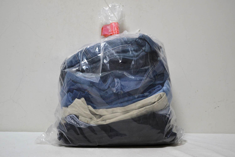 JKS35TE джинсовые брюки (36-38) р;код мешка 12203430