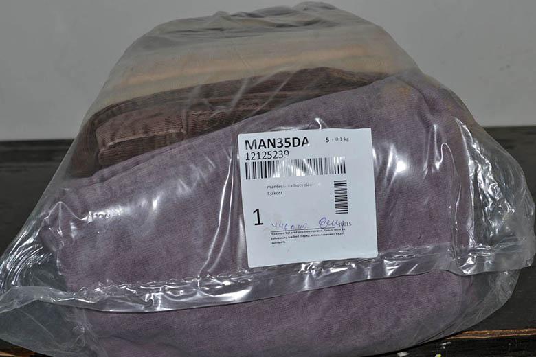 MAN35DA Женские вельветовые брюки; код мешка 12125539