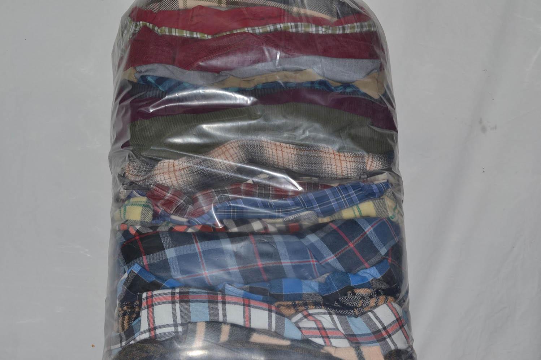 PAK03FL Мужские рубашки теплые фланель; код мешка 12104907