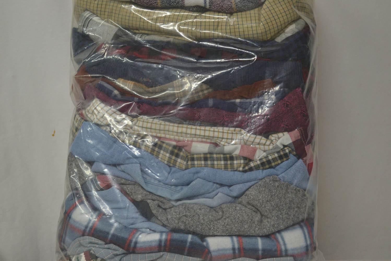 PAK03FL Мужские рубашки теплые фланель; код мешка 12282632