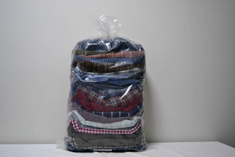 PAK03FL Мужские рубашки теплые фланель; код мешка 12193611