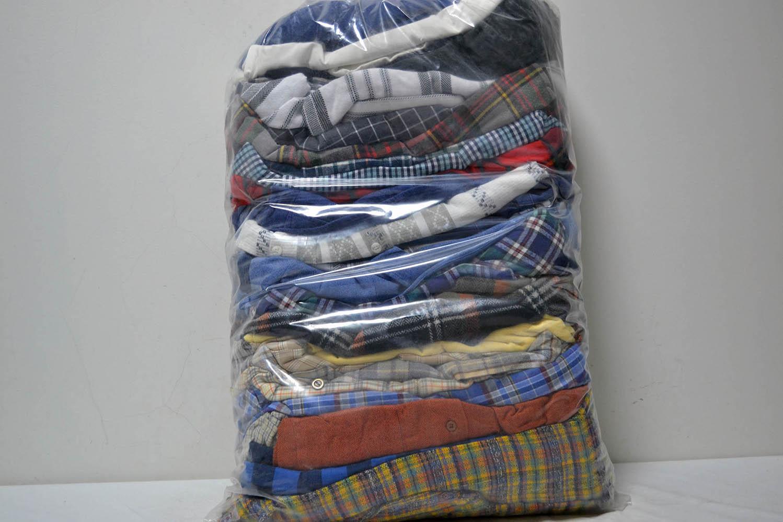 PAK03FL Мужские рубашки теплые фланель; код мешка 12193621